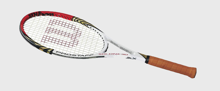 Types of Tennis Racquets - Wilson Pro Staff 90 BLX