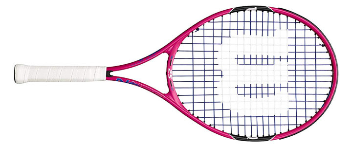 Wilson Burn Pink Junior Tennis Racquet