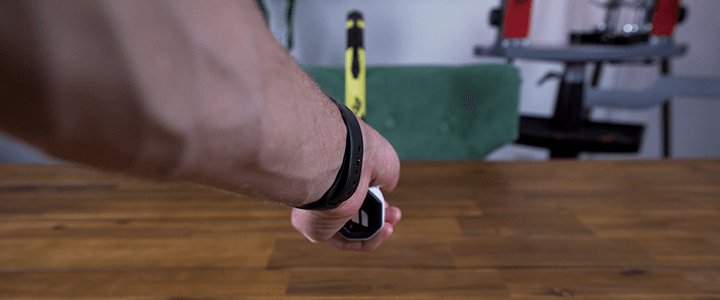 How to Hold the Continental Grip: Left Hand Back View