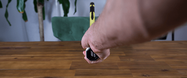 How to Hold the Continental Grip: Right Hand Back View