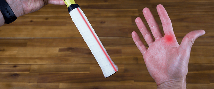 How to Hold the Continental Grip: Right Hand Bevel Second & Knuckle