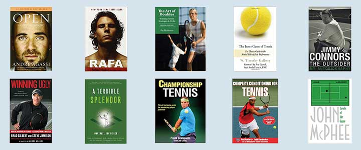 The best tennis book covers