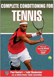 Book Cover - James Blake wearing a red shirt coming in for a backhand chip