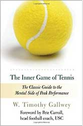 Book Cover - A bright yellow tennis ball with a shadow
