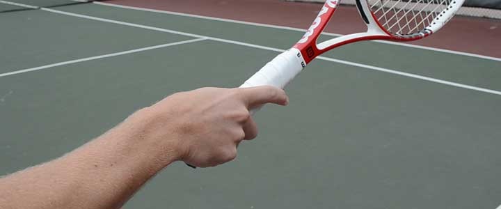 how to change a tennis grip