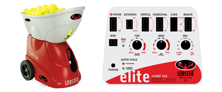 Tenis Gift #10 - Lobster Elite 2 Tennis Ball Machine