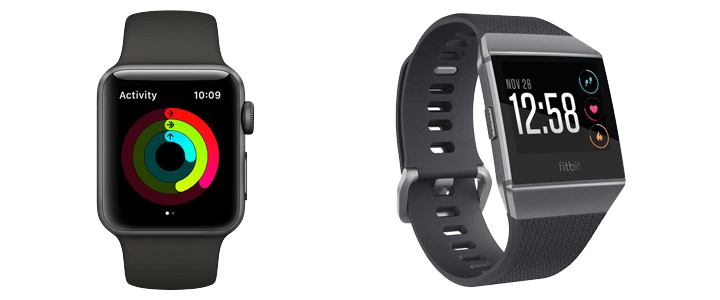 Tennis Gift #8 - Apple Watch Series 3 & Fitbit Ionic