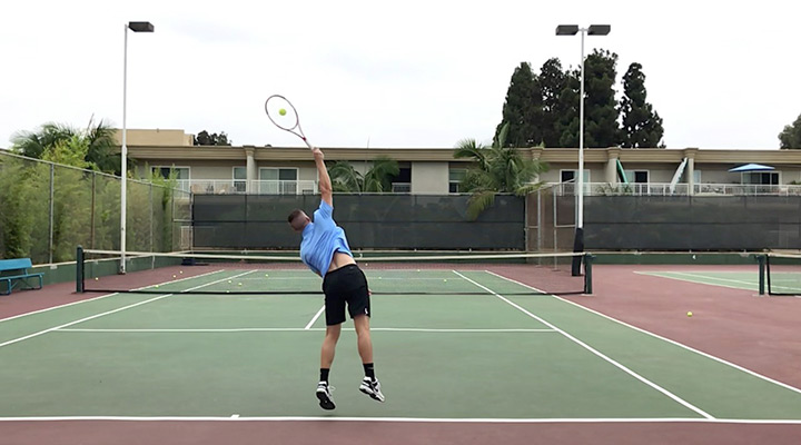 Kick Serve: Contact Point & Racquet Angle