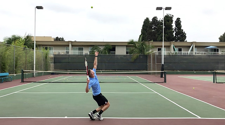 Kick Serve: Toss Placement