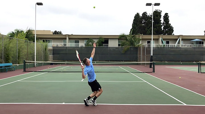 Slice Serve: Toss Placement