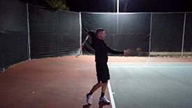 Video 6 - Racquet Drop, Swing and Follow Through