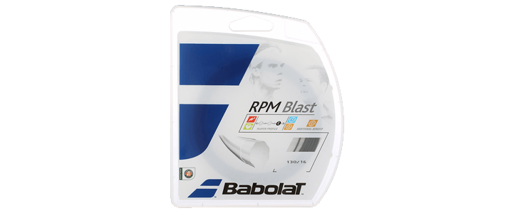 Babolat RPM Blast - Best Polyester for Topspin