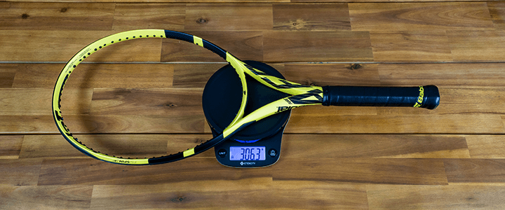 Getting Started with Tennis Racquet Weight: Scale Unstrung