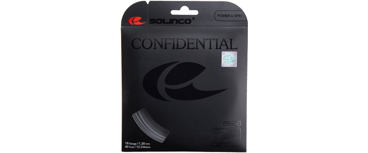 Solinco Confidential - Best Polyester for Durability