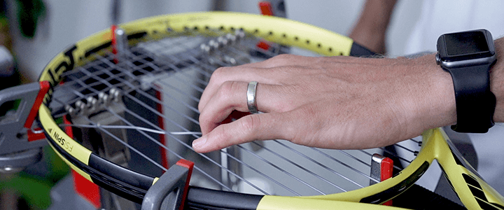 Tennis String Tension for Comfort and Arm Injuries Like Tennis Elbow
