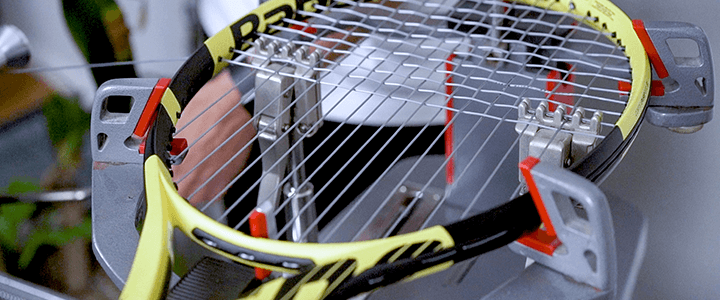 Tennis String Tension for Topspin & Polyester Strings