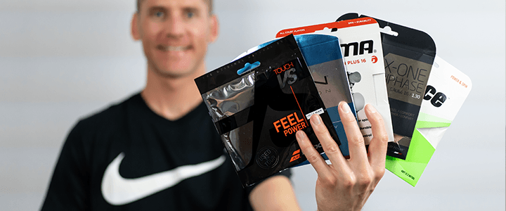 Types of Tennis Strings: A Comprehensive Guide