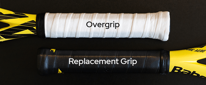 Tennis Overgrip vs. Replacement Grip