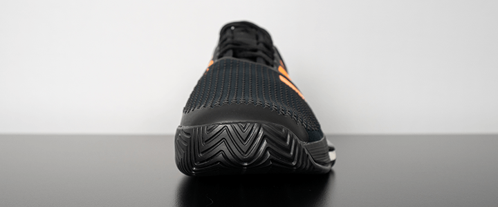 adidas SoleCourt Boost: Toe Guard