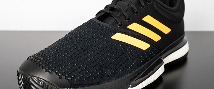 adidas SoleCourt Boost: Upper