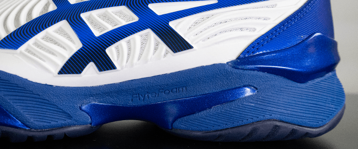 Asics Court FF 2: Midsole Zoomed In