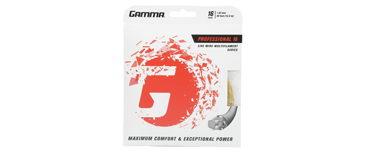 Gama Live Wire Professional Multifilament Tennis String
